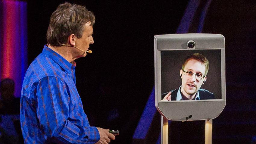 Événement : Edward Snowden intervient en BEAM au CES 2016