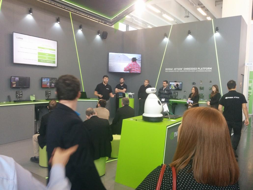 EMBEDDED WORLD : NVIDIA invite la R&D AWABOT à présenter le projet EMOX
