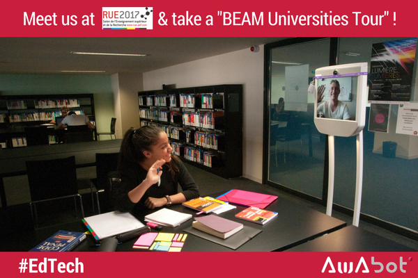 Innovation pédagogique Beam Universities tour