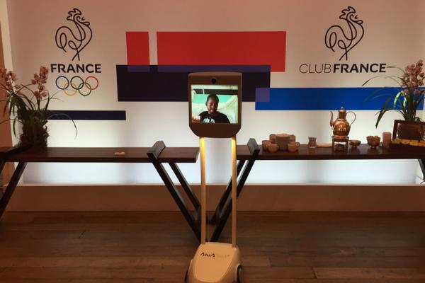 Awabot - opération #RiOBOT aux Jeux Olympique