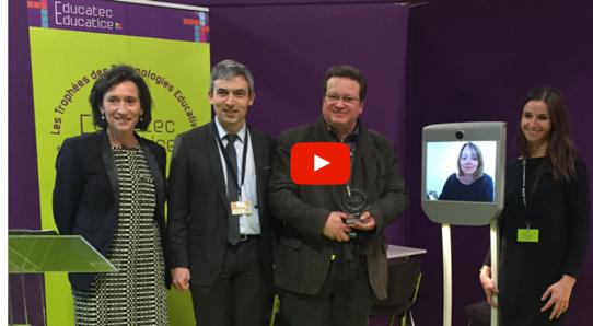 [VIDEO] Trophées EDUCATEC EDUCATICE : le projet « Robot Campus » de l'Ecole Centrale de Lyon récompensé