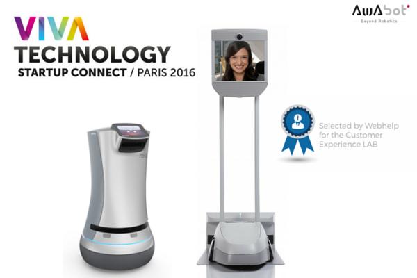 Viva Technology 2016 : Awabot présente BEAM et Relay