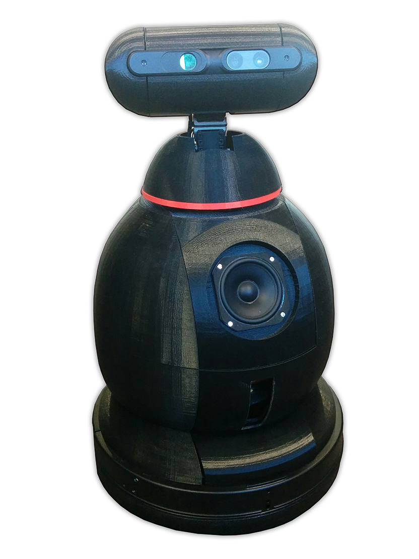Emox One, démonstrateur robotique