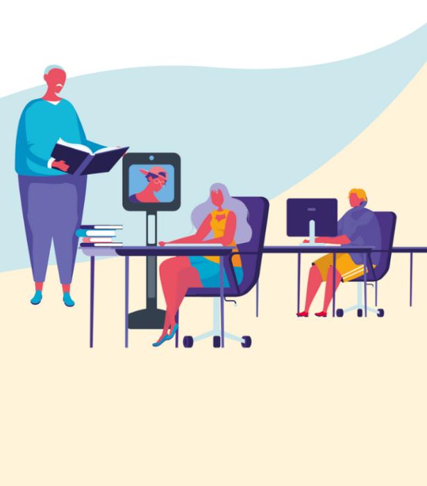 Awabot Smile, la téléprésence mobile au service de l'inclusion scolaire